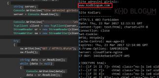 html-cekme
